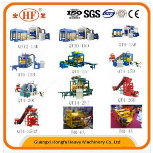 Hydraulic Automatic Concrete Brick Block Making Machine with Ios pictures & photos