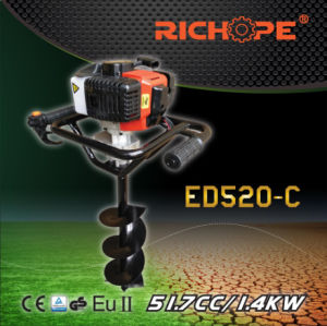 Strong Power Portable Earth Drill (ED520C) pictures & photos