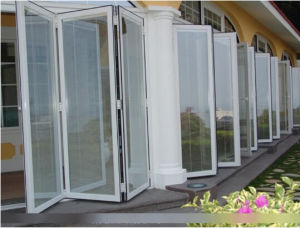 Double Glazing with Cheap Price Plastic PVC Folding Door