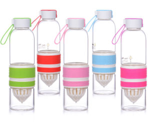 700ml Tritan Fruit Infuser Water Bottle, Lemon Cap Water Bottle pictures & photos