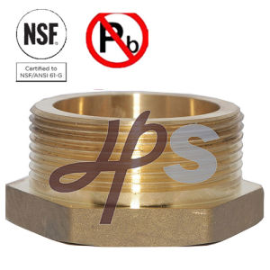 NSF61 Approved Low Lead /Lead Free Brass Bushing 11/4′′-21/2′′ pictures & photos