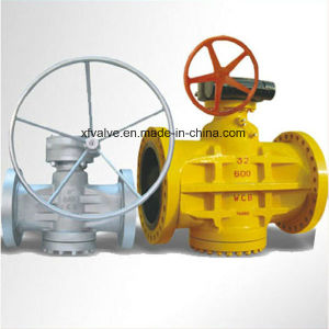API6d Inverted Pressure Oil Seal Balance Lubricated Flange/RF Plug Valve pictures & photos