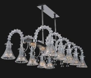 Modern Decorative Glass Chandelier Restaurant Pendant Light (40007-10) pictures & photos