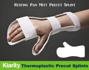 Thermoplastic Splints - Resting Pan Mitt Precut Splint pictures & photos