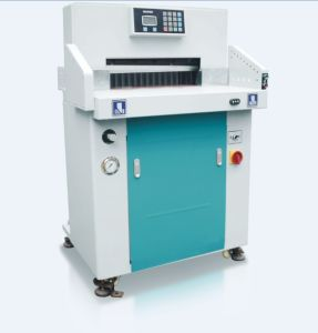 Hydraulic Program Paper Cutter HS670t pictures & photos