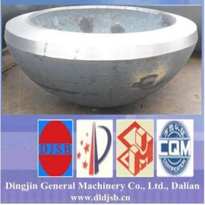 Thick Wall Hemispherical Head for Heat Exchanger by Hot Forming pictures & photos