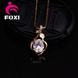 Elegant Silver Zircon Gemstone Pendant for Girls pictures & photos