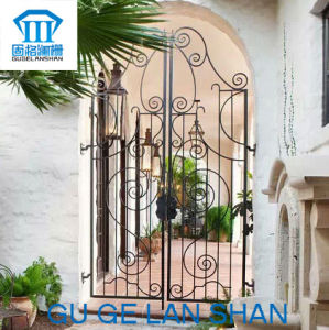 High Quality Crafted Wrought Iron Gate 005 pictures & photos