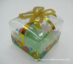 Custom healthy plastic gift box for cake (food packing) pictures & photos