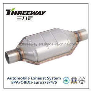 Car Exhaust System Three-Way Catalytic Converter #Twcat001 pictures & photos