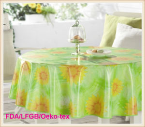 PVC Printed Table Cloths in Roll Wholesale pictures & photos