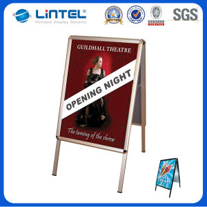 32mm Aluminum Snap Frame Heavy Duty Poster Board (LT-10) pictures & photos