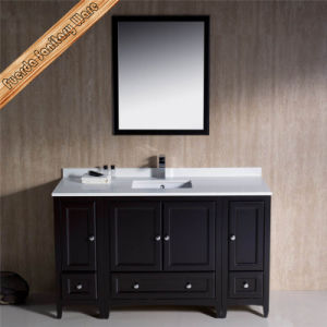 Solid Wood Bathroom Vanities Modern Bathroom Cabinets pictures & photos