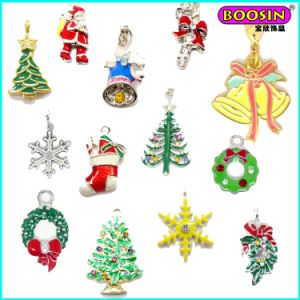 New Hot Selling Custom Colorful Enamel Pendant for Christmas pictures & photos