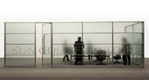 latest Frameless Commercial Low Office Glass Workspace Partition (SZ-WS564) pictures & photos