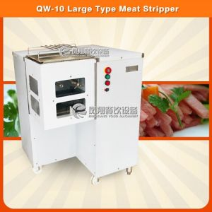Qw-10 Ce Approved Large Type Meat Stripper Machine pictures & photos