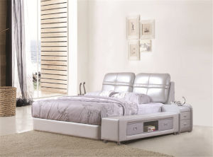 2016 New Design Bedroom Bed Home Furniture pictures & photos