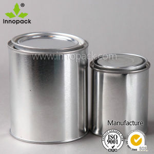 Small Round Tin Can Packaging Stoage Containers for Chemical pictures & photos