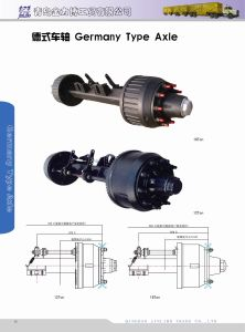 Trailer Part - Amercian Type Outboard Axle pictures & photos