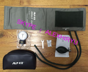 Aneroid Medical Manual Sphygmomanometer Plastic Gauge Blood Pressure pictures & photos