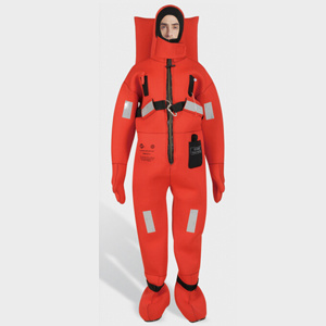 Marine Insulated Immersion Suits Survival Suit Diving Thermal Isolation Suit with Good Quality and Price pictures & photos