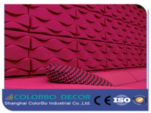 Long Lifespan Acoustic Polyester Fiber 3D Type Panels pictures & photos