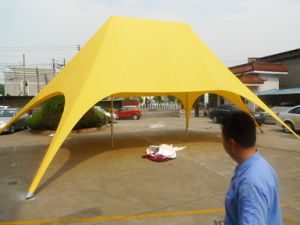 Double Peak Twin Sun Star Shade Tent pictures & photos