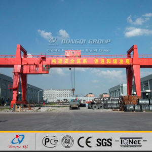 Rail Mounted Double Girder Portal Gantry Crane 80 Ton
