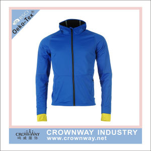 100% Polyester Breathable Water Resistant Running Jacket for Man pictures & photos