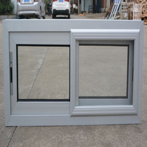 Powder Coated Thermal Break Aluminum Alloy Window with Latch Lock pictures & photos