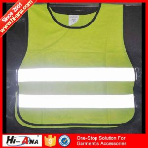 ISO 9001: 2000 Certification High Visibility Safety Reflective Red Jacket pictures & photos