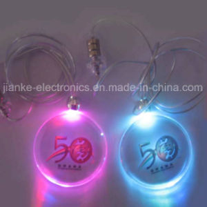 2015 Hot Sale Colorful LED Necklace with Logo Print (2001) pictures & photos