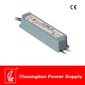 20W IP67 Constant Voltage Plastic Case LED Driver with Pfc pictures & photos