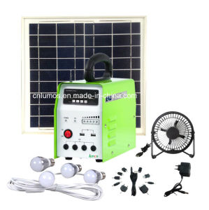 10W off-Grid Outdoor Indoor off Grid Solar System