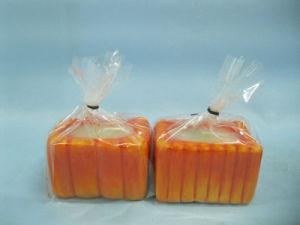 Pumpkin Candlestick Shape Ceramic Crafts (LOE2360-6.5z) pictures & photos