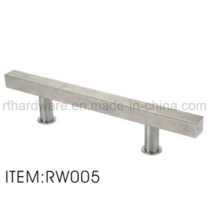 Wooden Door Handle Furniture Stainless Steel Glass Door Handle pictures & photos