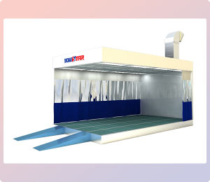 Paint Prep Stations Commercial Spray Booth for Sale pictures & photos