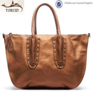Lady Fashion PU Leather Handbag Manufacturers Shoulder Tote Handbag