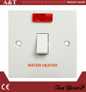 CE Approved 20A D. P Water Heater Switch with LED Indicator