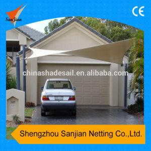 5X5m New HDPE Car Parking Sun Shade Sail (Manufacturer/Factory)