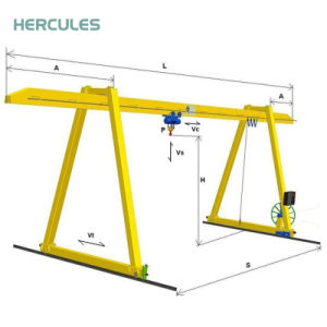 Hot Sell Gantry Hoist with Variable Designs in Capacity pictures & photos