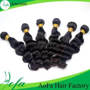 Dyeable 7A Grade Indian Hair Unprocess Virgin Human Hair pictures & photos