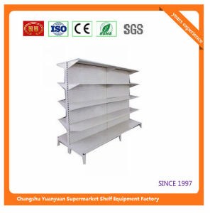 Metal Cosmetic Back Panel Supermarket Shelf 07302 pictures & photos