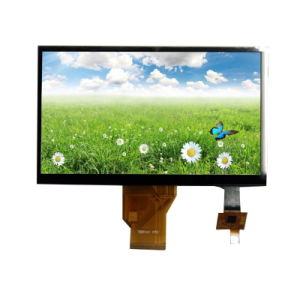 "High Brightness 7"" TFT Display Panel with Lvds Interface Capacitive Touch Panel pictures & photos"