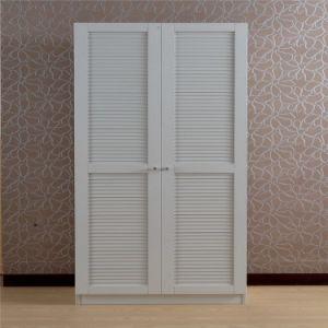 Modern Wood Wardrobe with Sliding Door pictures & photos