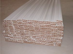 Primed MDF Baseboard/Skirting Moulding / Flooring Accessories pictures & photos