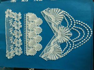 High Quality Bridal Applique Lace 100% pictures & photos