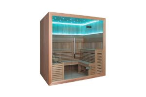 Monalisa Dry Sauna with Imported Wood for Sale M-6045 pictures & photos