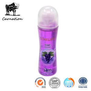 Grape Natura Fruit Flavor Sex Lubricant Toys