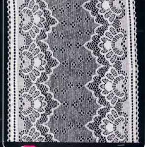Europe Standard High Color Fastness Stretch Lace (HM7005) pictures & photos